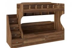 """Кровать двухъярусная с приставной лестницей СМ-250.11.12 """"НАВИГАТОР"""""""