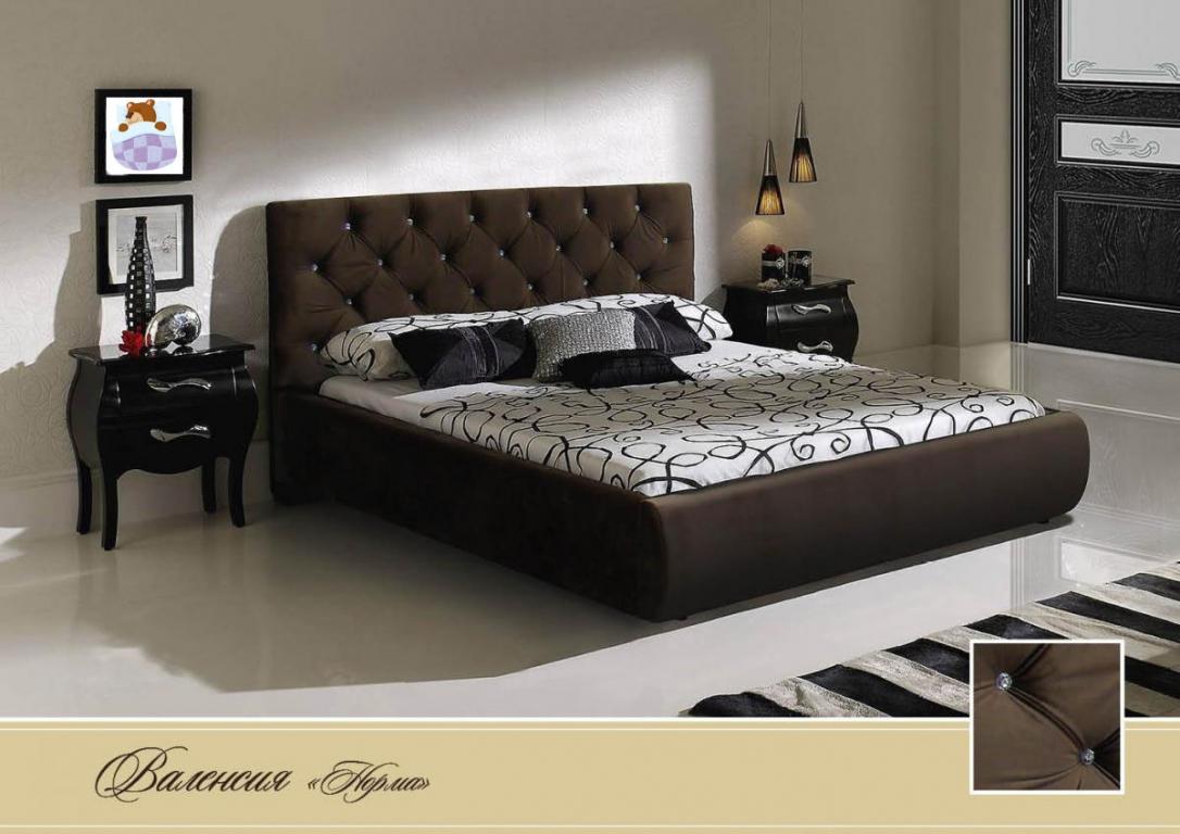 """Кровать"""" Валенсия"""" (норма) с подъёмным механизмом"""