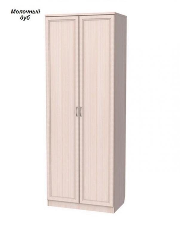 """Шкаф для белья 2-х.ств. со штангой и полками арт.101 (82см.) """"Гарун"""""""
