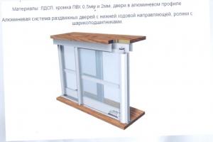 """ШКАФ-КУПЕ """"ШКО-3"""" 2380 ММ"""