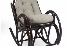 """Кресло качалка  """"BELLA"""" с подушкой"""