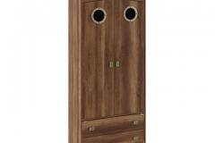 """Шкаф комбинированный для одежды с иллюминатором СМ-250.07.22 """"НАВИГАТОР"""""""