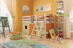 """Детская кровать """" Соня"""" № 12"""