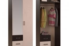 """Шкаф 2-створчатый """"Белла"""""""
