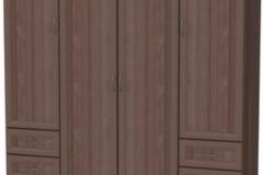 """Шкаф для белья со штангой, полками и ящиками """" Гарун 112"""""""