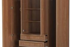 """Шкаф для белья со штангами, полками и ящиками """"Гарун 110"""""""