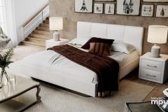 """Кровать """"Элис"""" тип 1 (светлая)"""