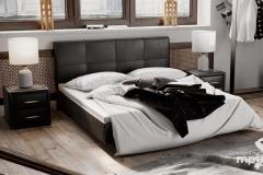 """Кровать """"Элис"""" тип 1 (темная)"""
