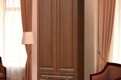 """Шкаф 2х дверный с ящиками для платья """" Гармония - 4 """""""